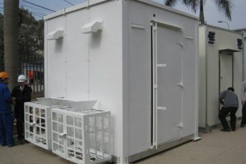 Shipping Containers for Telecom Shelters